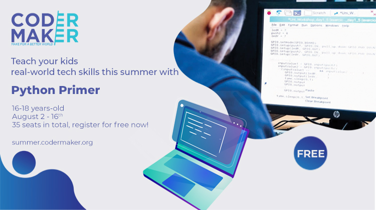 Get your children to start their coding and making journey with Coder-Maker