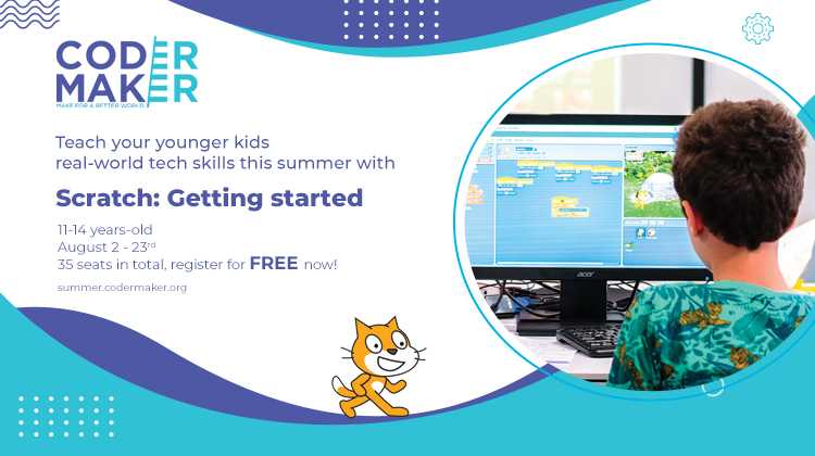 Do you have younger children you want to empower to code and make?