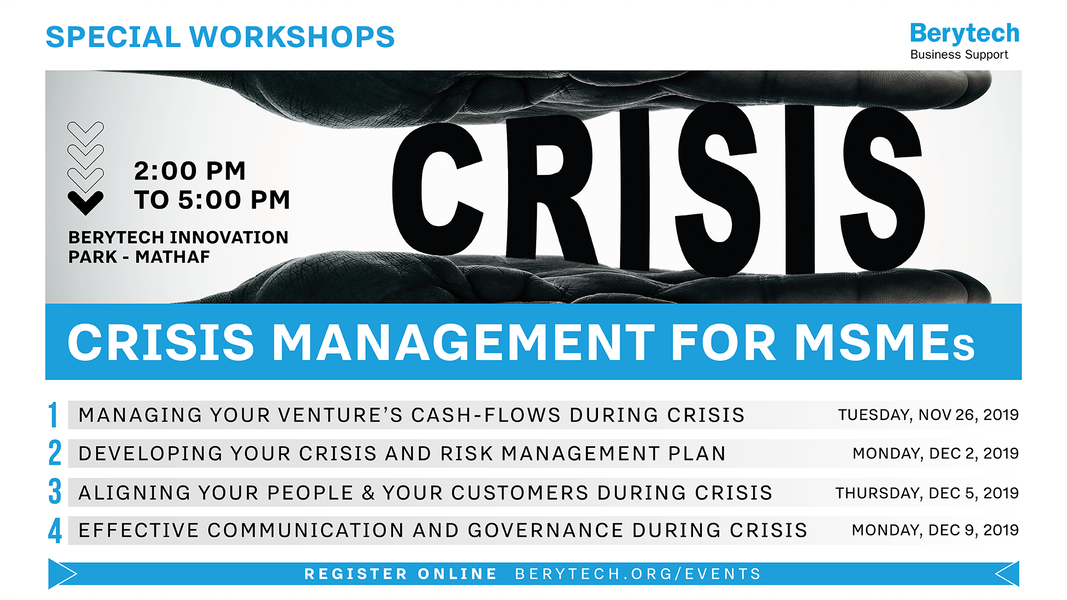 Crisis Management for MSMEs