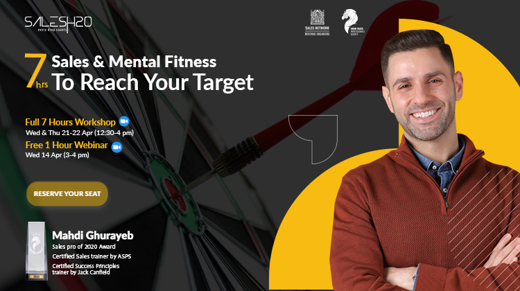 7-hrs of Sales & Mental Fitness to Reach Your Target