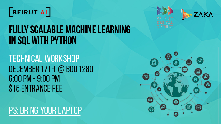 Fully scalable machine learning in SQL with python
