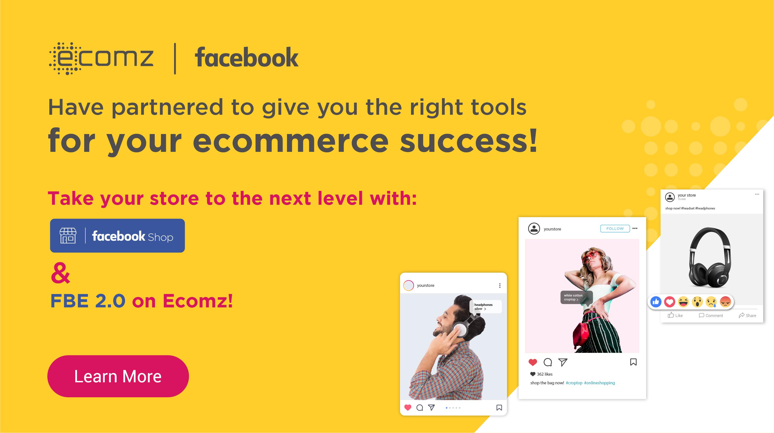 Facebook Shop Extension