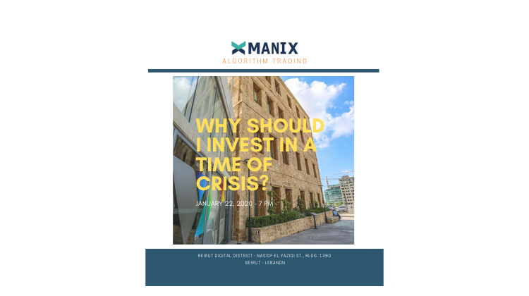 Why should I invest in a time of crisis?