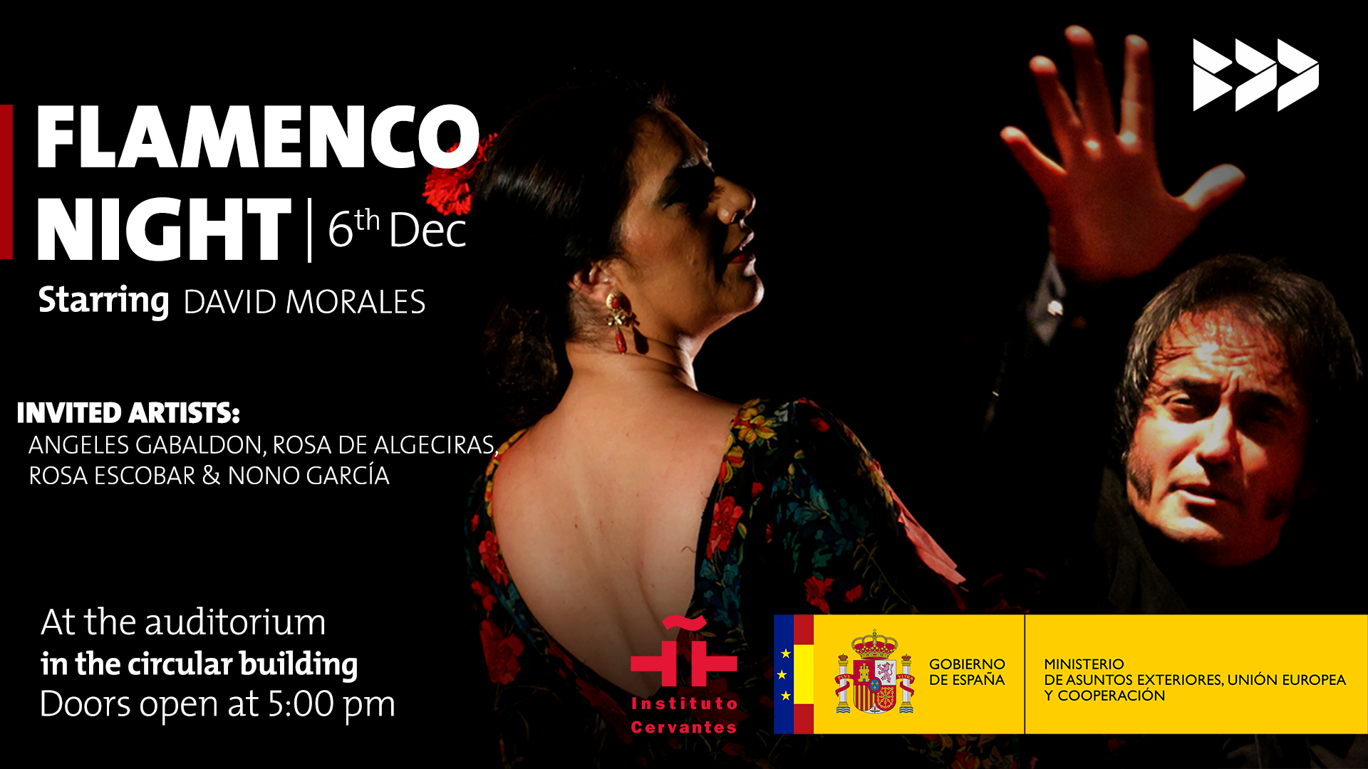 Flamenco Encounter in Lebanon With the special participation of David Morales