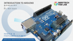 Berytech Fab Lab Workshop: Introduction to Arduino