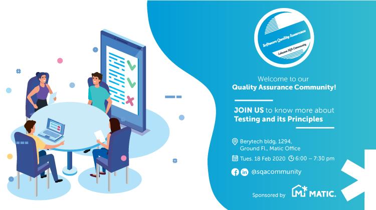 Software Quality Assurance Community gathering