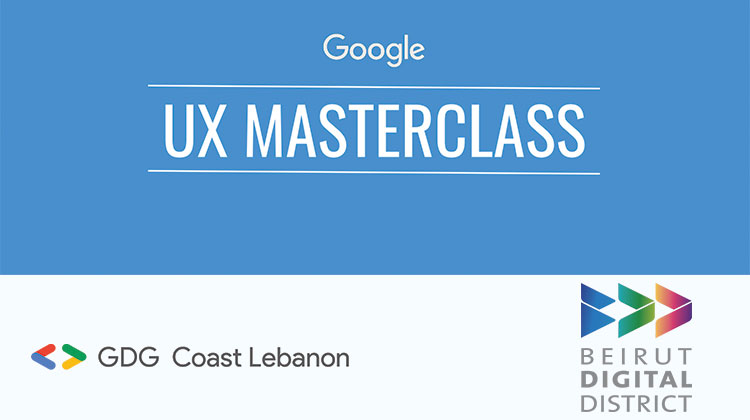 MENA: UX Masterclass - Powered by GDG Series