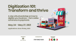 Digitization 101: Transform and Thrive
