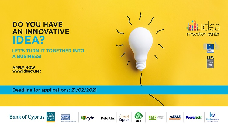 IDEA Innovation Center – call for Startups for its 6th cycle